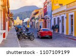 ciudad de guatemala  guatemala  ... | Shutterstock . vector #1107109199