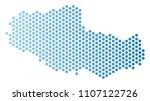 hex tile tibet chinese... | Shutterstock .eps vector #1107122726