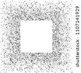 square silver frame or border... | Shutterstock .eps vector #1107141929
