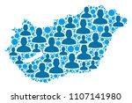 population hungary map....   Shutterstock .eps vector #1107141980