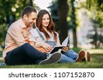 happy parenthood  expecting a...   Shutterstock . vector #1107152870