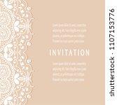 invitation or card templates... | Shutterstock .eps vector #1107153776