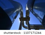 piping and valves   Shutterstock . vector #1107171266