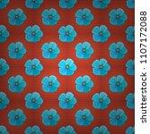 watercolor seamless pattern... | Shutterstock .eps vector #1107172088