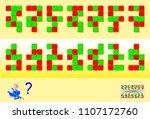 logic puzzle game for children...   Shutterstock .eps vector #1107172760