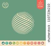 earth logo design | Shutterstock .eps vector #1107236210