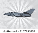 multi role combat aircraft   Shutterstock .eps vector #1107256010