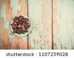 date palm fruit or kurma  ... | Shutterstock . vector #1107259028