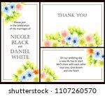 vintage delicate invitation... | Shutterstock .eps vector #1107260570