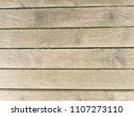 wooden floor boards. old wooden ...   Shutterstock . vector #1107273110