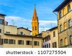 bell tower santa maria della... | Shutterstock . vector #1107275504