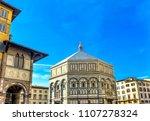 bapistry saint john facade... | Shutterstock . vector #1107278324