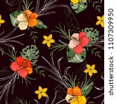botanical motifs. isolated...   Shutterstock .eps vector #1107309950