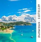 view of luxury resort and bay...   Shutterstock . vector #110731139