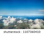 zanzibar from above          Shutterstock . vector #1107360410