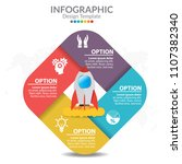 infographic template and... | Shutterstock .eps vector #1107382340