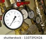 heating  pipes and equipment | Shutterstock . vector #1107392426