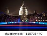 The Millennium Bridge At Night...