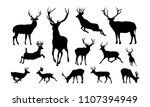 Set Of Deer Illustration...