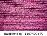 Pink And White Brick Walls