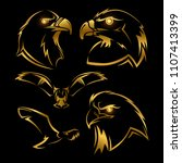 Golden Eagle  Hawk Vector...