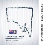 south australia national vector ... | Shutterstock .eps vector #1107415169