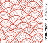 decorative seamless pattern.... | Shutterstock .eps vector #1107421619