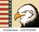 4th of july independence day | Shutterstock . vector #1107425240