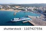 rafina   attica   greece   june ... | Shutterstock . vector #1107427556