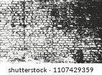 distressed overlay texture of... | Shutterstock .eps vector #1107429359