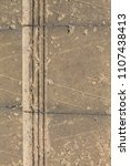 old worn steps | Shutterstock . vector #1107438413