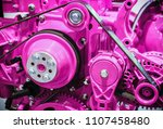 parts of internal combustion... | Shutterstock . vector #1107458480