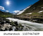 Beautiful Mountain Valley Near Klosters - Fine Art prints