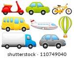 vector illustration of set of... | Shutterstock .eps vector #110749040