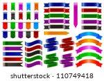 vector illustration of set of... | Shutterstock .eps vector #110749418