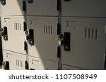 locker room security school gym ... | Shutterstock . vector #1107508949