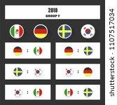 match schedule  2018 final draw ...   Shutterstock .eps vector #1107517034