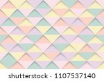 abstract colorful triangles... | Shutterstock .eps vector #1107537140