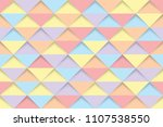 colorful triangles seamless... | Shutterstock .eps vector #1107538550