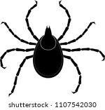 tick. vector illustration | Shutterstock .eps vector #1107542030