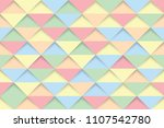 colorful triangles seamless... | Shutterstock .eps vector #1107542780