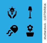 jellyfish  flower  responsible...   Shutterstock .eps vector #1107545816