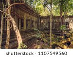 ruins of the ancient temple of... | Shutterstock . vector #1107549560