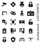 set of vector isolated black... | Shutterstock .eps vector #1107569873