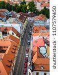 view of street in ceske...   Shutterstock . vector #1107579650
