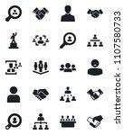 set of vector isolated black... | Shutterstock .eps vector #1107580733