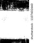 grunge black and white pattern | Shutterstock . vector #1107602660