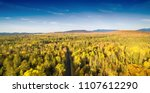 new england foliage in fall... | Shutterstock . vector #1107612290