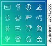 modern  simple vector icon set... | Shutterstock .eps vector #1107614000