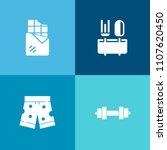 modern  simple vector icon set...   Shutterstock .eps vector #1107620450
